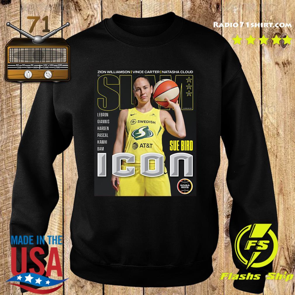 SLAM Official Sue Bird Shirt Sweater