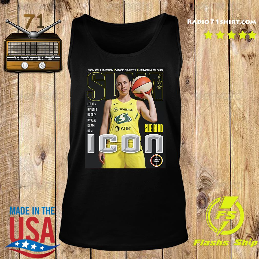 SLAM Official Sue Bird Shirt Tank top