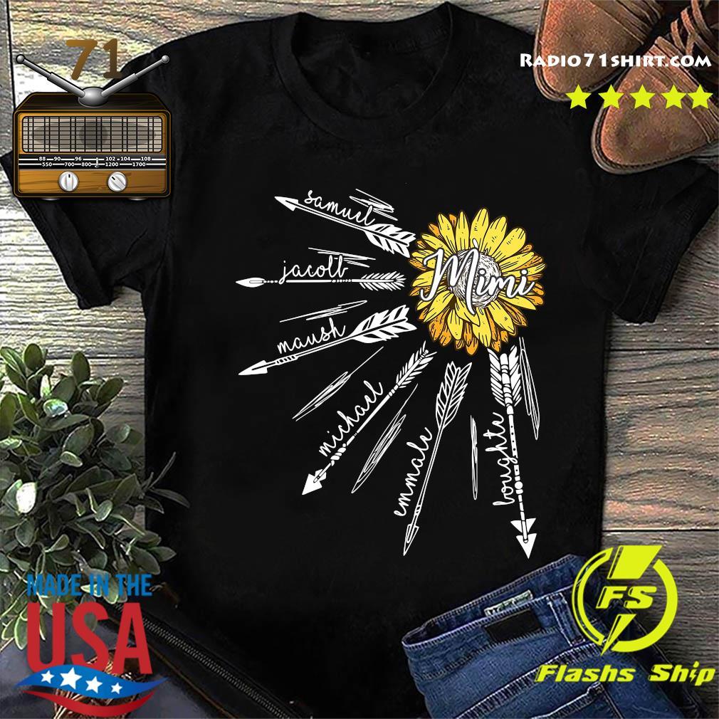 Sunflower Mimi Samuel Jacoll Maush Michael Shirt