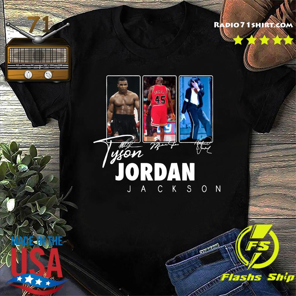 Tyson Jordan Jackson Signatures Shirt