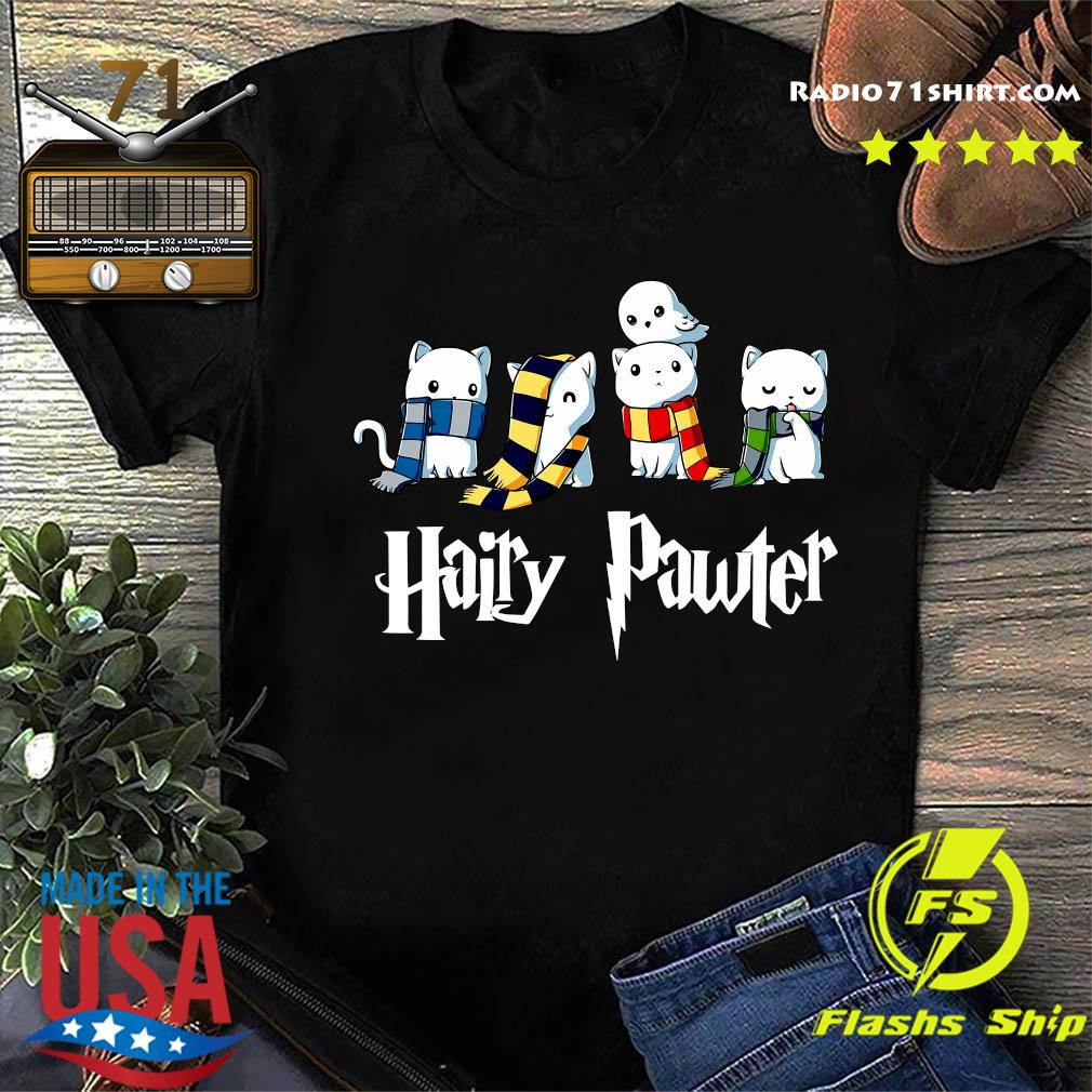 Cat Hairy Pawter Shirt