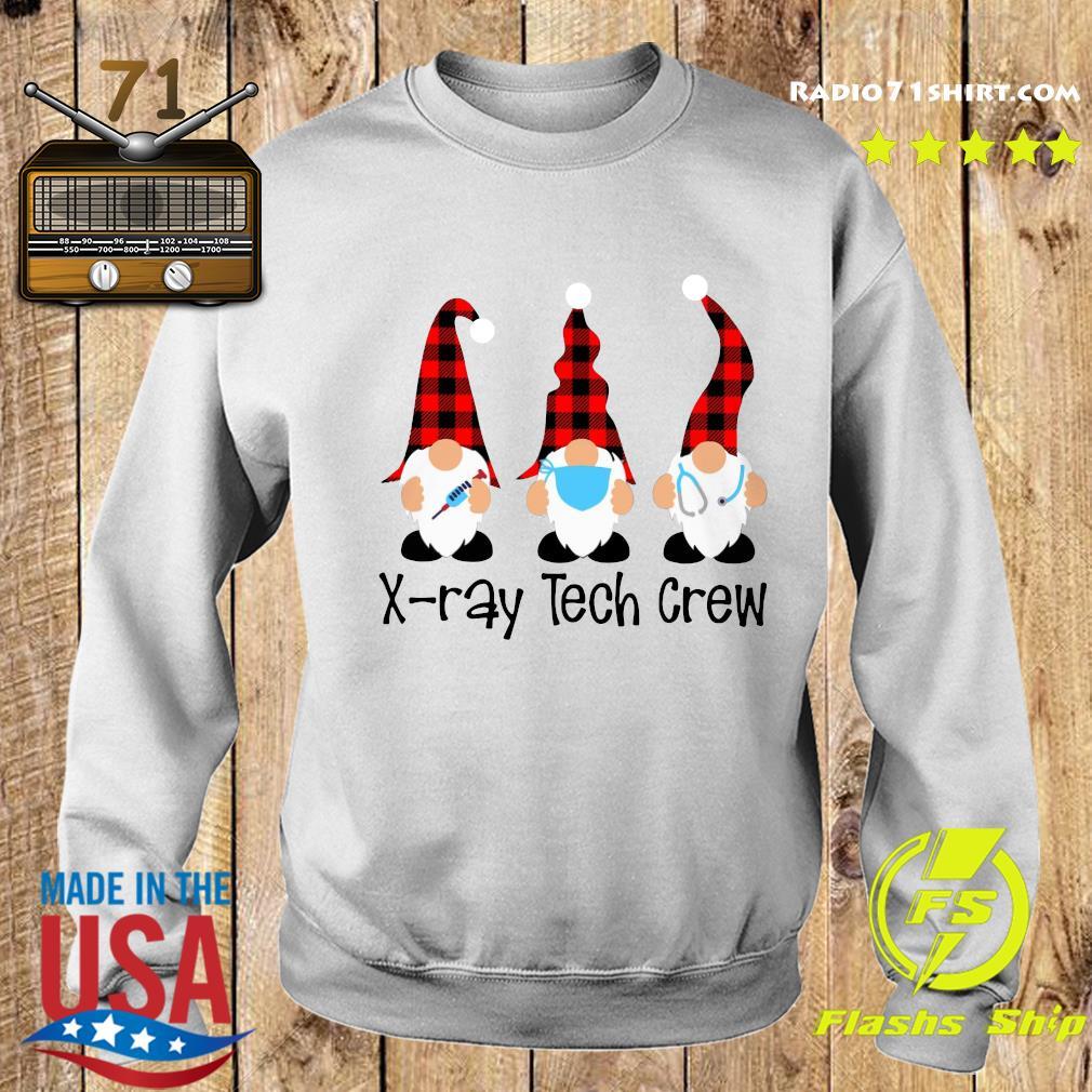 Gnome Nurse X-ray Tech Crew Merry Christmas Sweatshirt