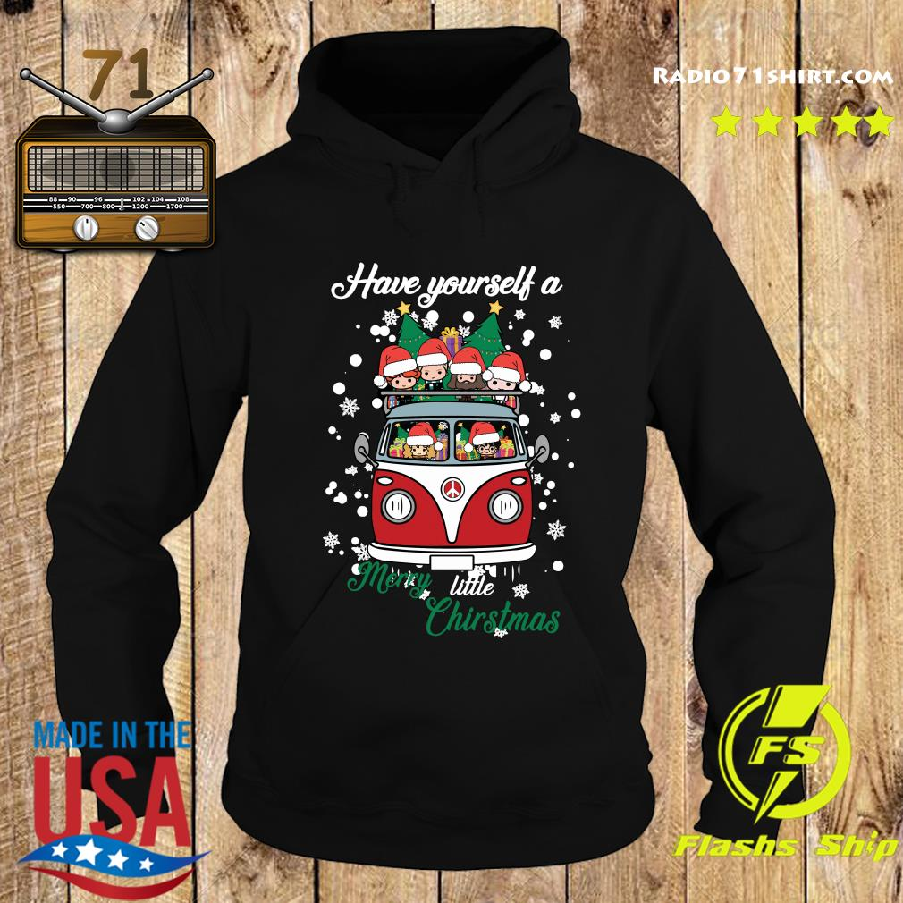 Harry Potter Have Yourself A Merry Little Christmas Shirt Hoodie