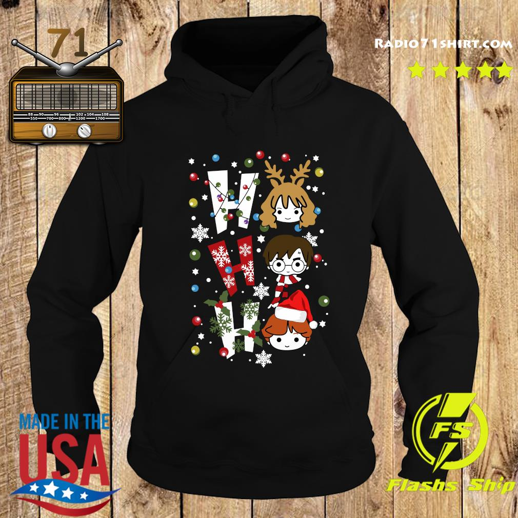 Harry Potter Ho Ho Ho Merry Christmas Shirt Hoodie