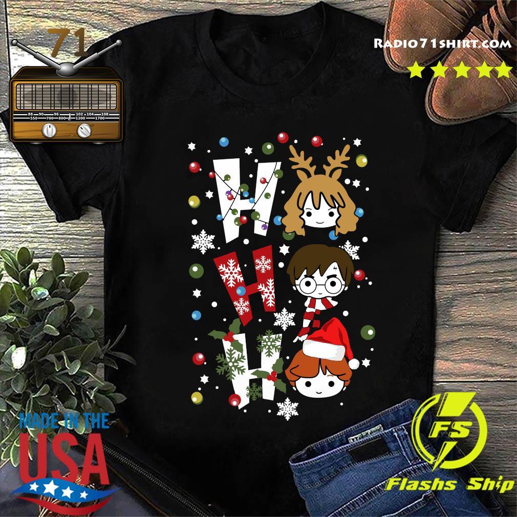 Harry Potter Ho Ho Ho Merry Christmas Shirt