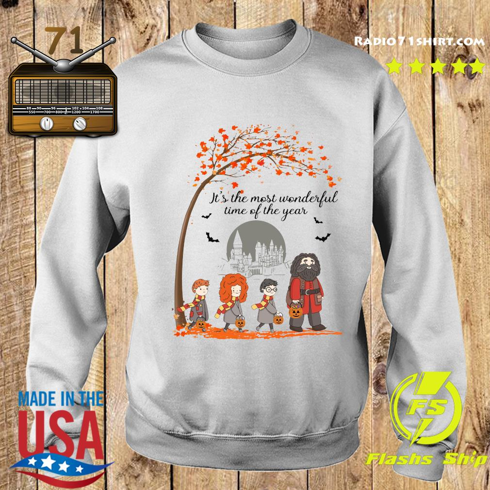 Harry Potter Hogwart It's The Most Wonderful Time Of The Year Shirt Sweater