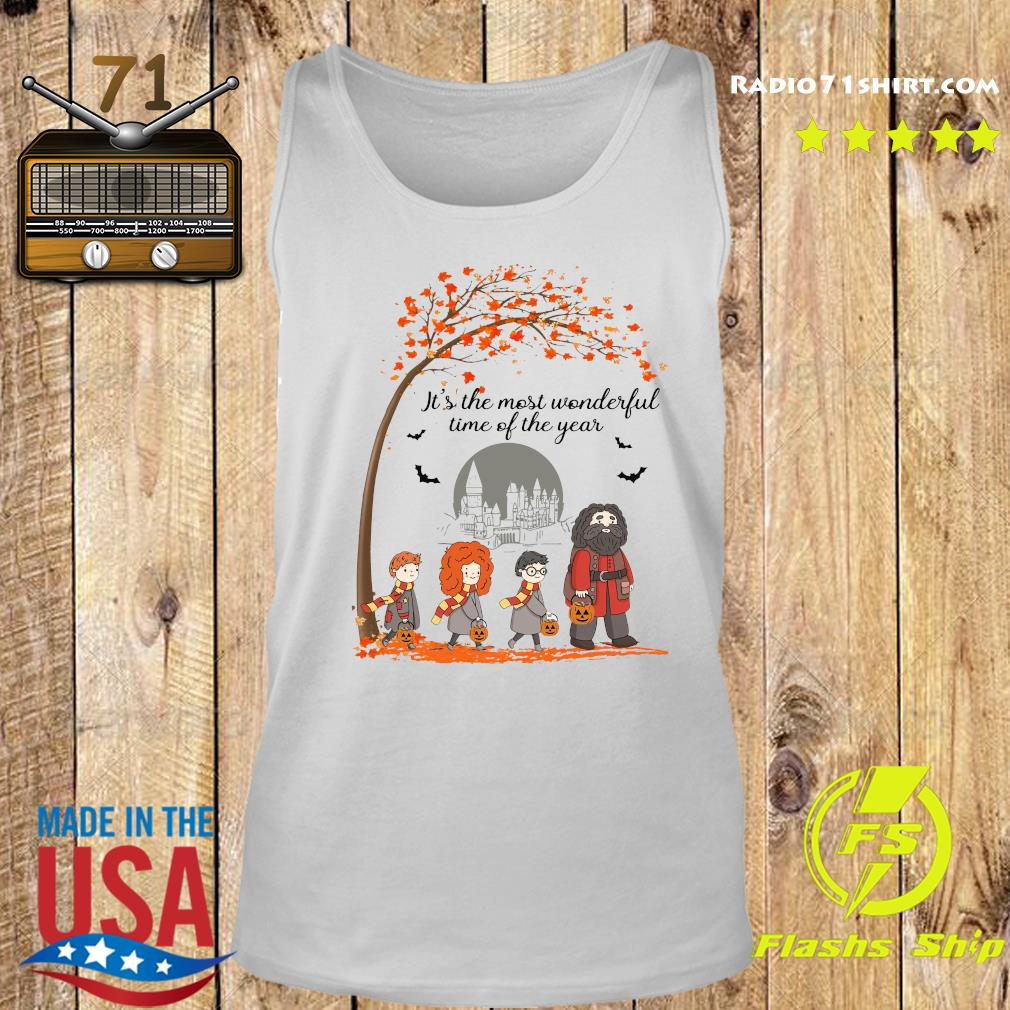 Harry Potter Hogwart It's The Most Wonderful Time Of The Year Shirt Tank top
