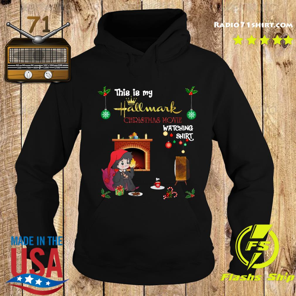 Harry Potter This Is My Hallmark Christmas Movie Watching Shirt Hoodie