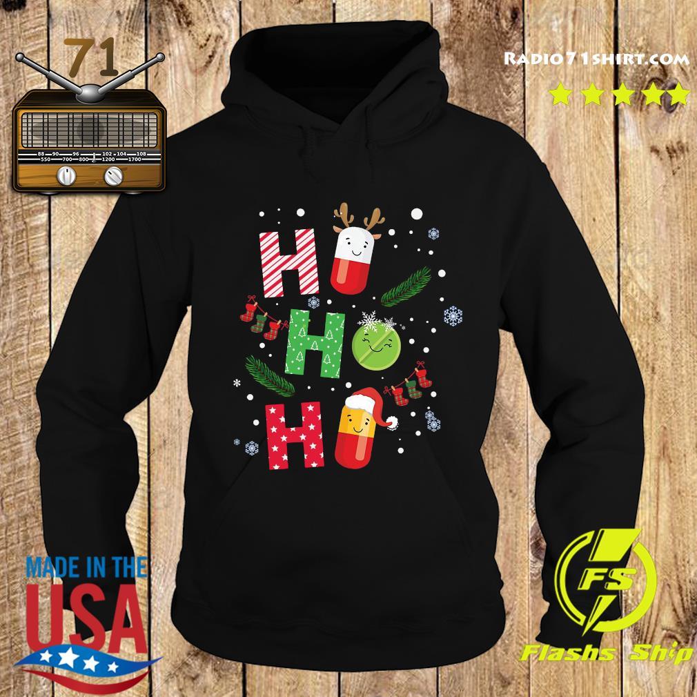 Ho ho ho Medicine Reindeer Merry Christmas Sweats Hoodie