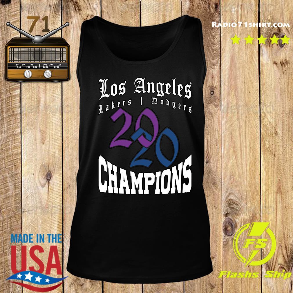 LA Dodgers Lakers 2020 Champions World Series Baseball ...
