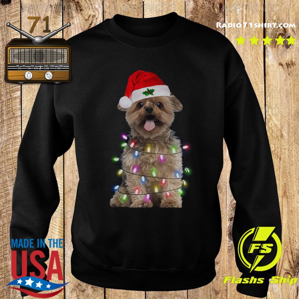 Santa Norfolk Terrier Merry Christmas Sweatshirt