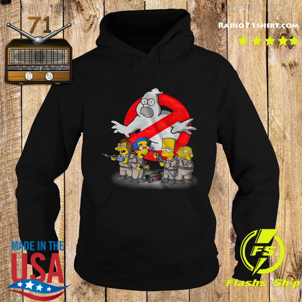 The Simpsons Ghostbusters s Hoodie