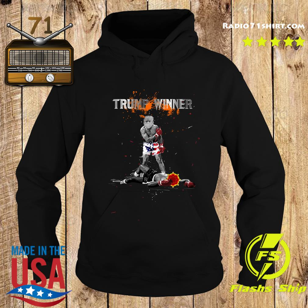 Trump Winner Boxing Coronavirus Shirt Hoodie
