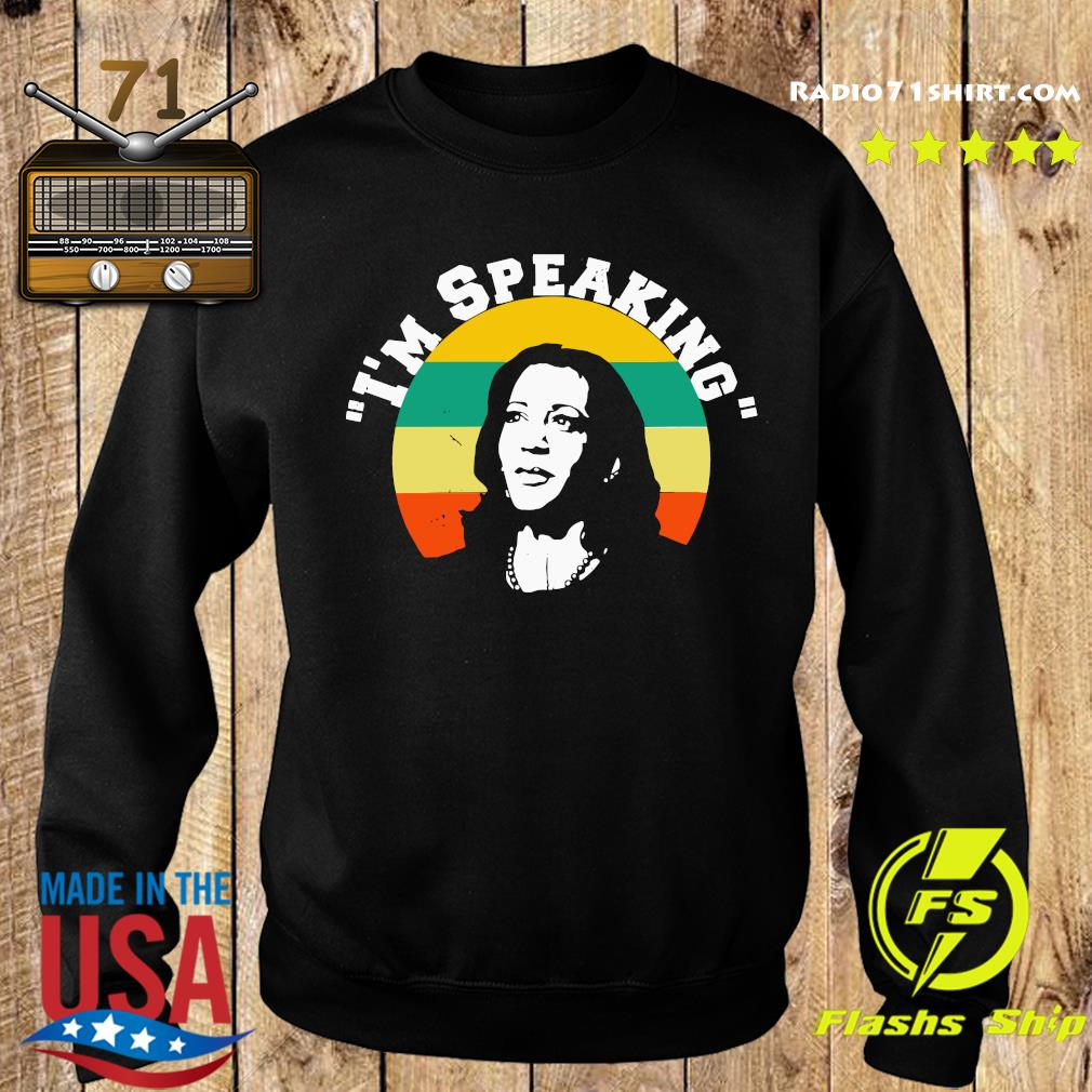 Vintage Kamala Harris I'm Speaking Shirt Sweater