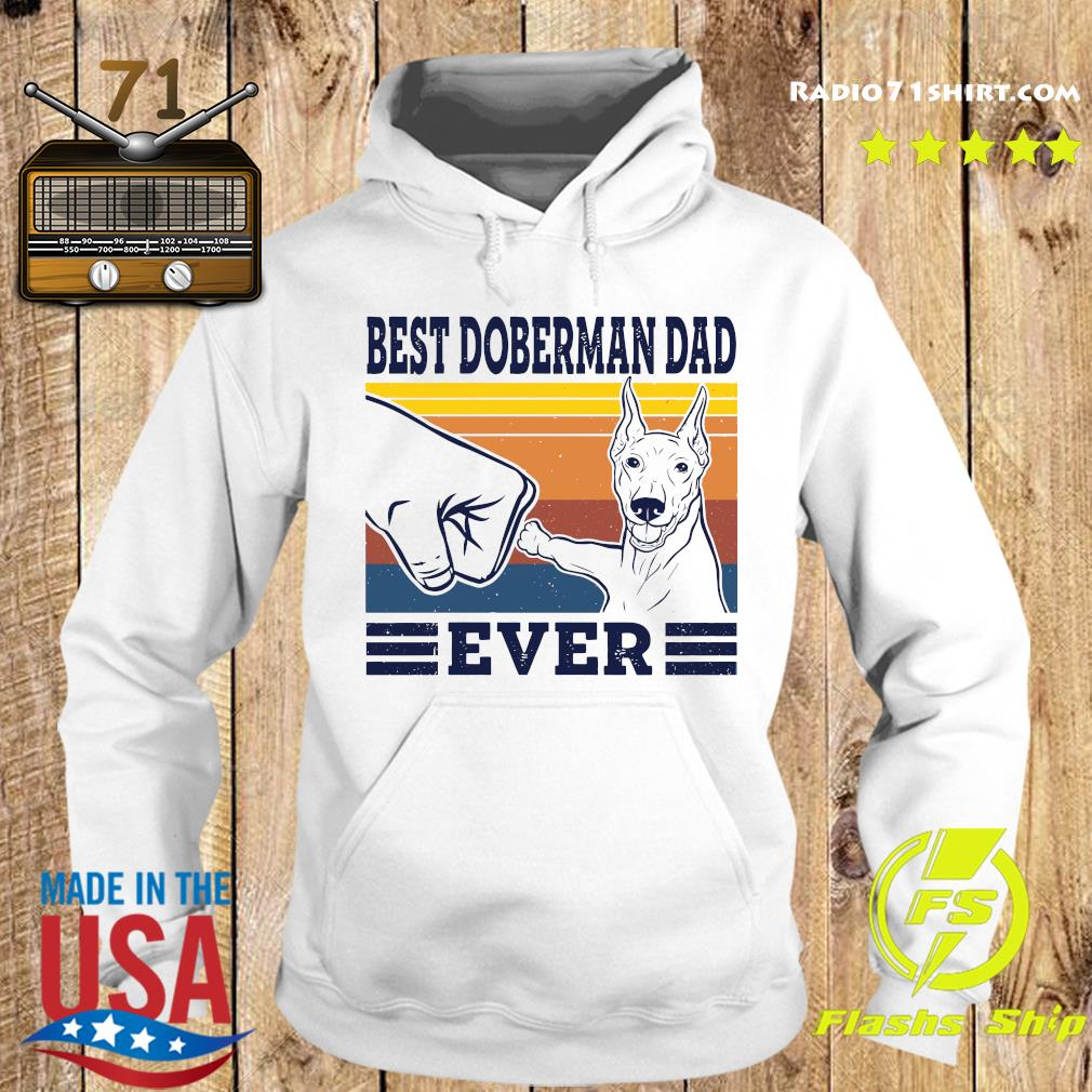 Best Doberman Dad Ever Vintage Retro Shirt Hoodie