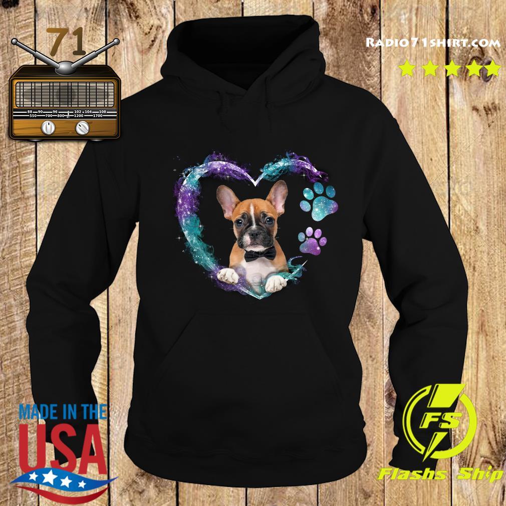Boxer Paw Dog Heart Shirt Hoodie