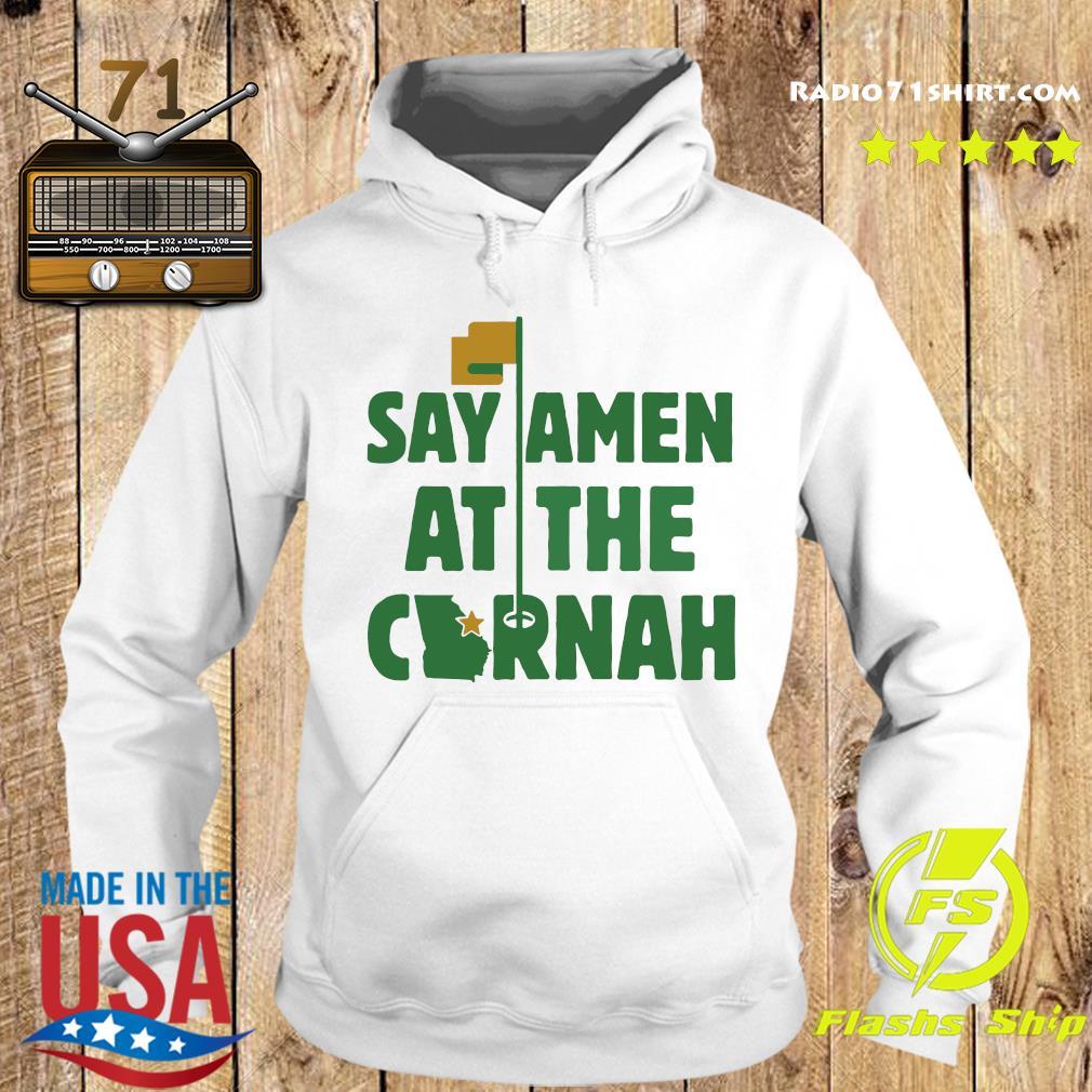 Say Amen At The Cornah Chris Vernon T Shirt Hoodie