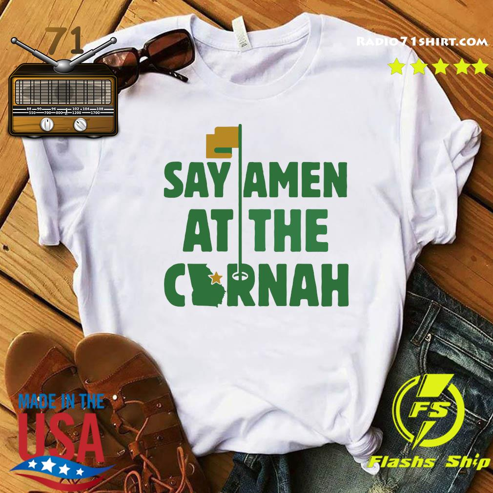 Say Amen At The Cornah Chris Vernon T Shirt