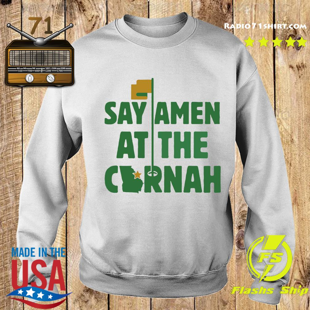 Say Amen At The Cornah Chris Vernon T Shirt Sweater