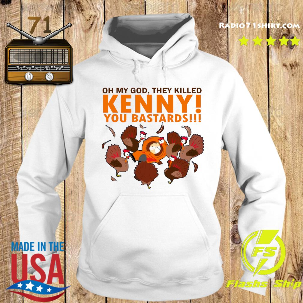 South Park Oh My God They Killed Kenny You Bastards Shirt Hoodie