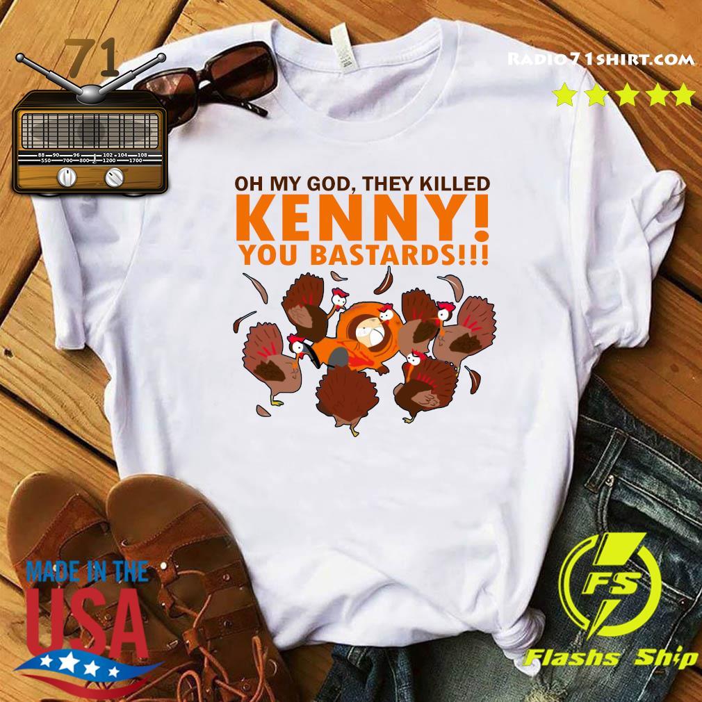 South Park Oh My God They Killed Kenny You Bastards Shirt
