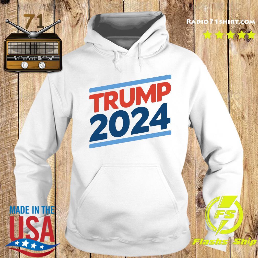 Trump 2024 Retro Crew Neck Shirt Hoodie