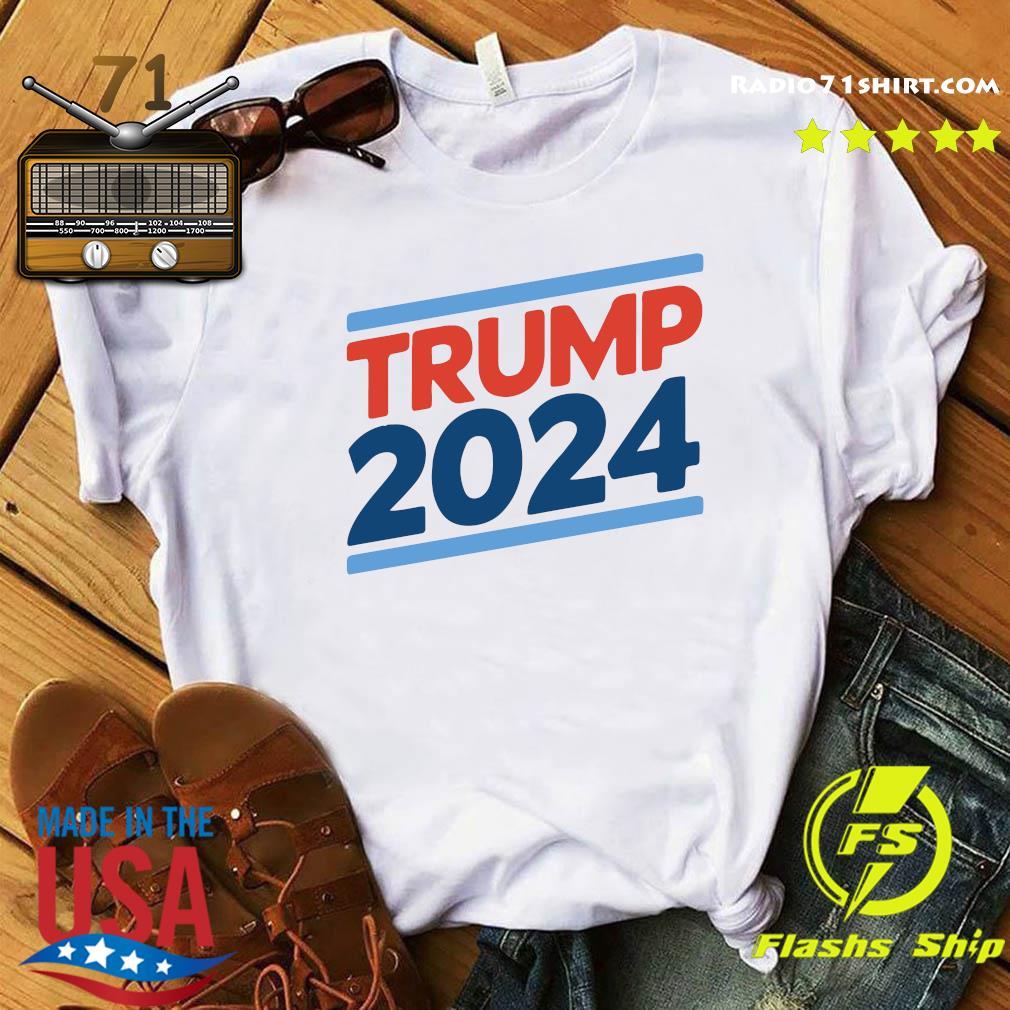 Trump 2024 Retro Crew Neck Shirt