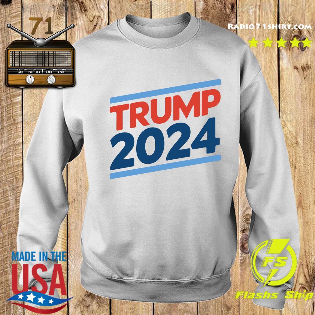 Trump 2024 Retro Crew Neck Shirt Sweater