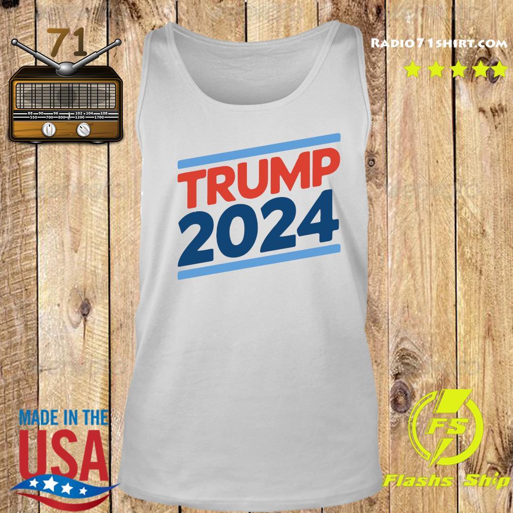 Trump 2024 Retro Crew Neck Shirt Tank top