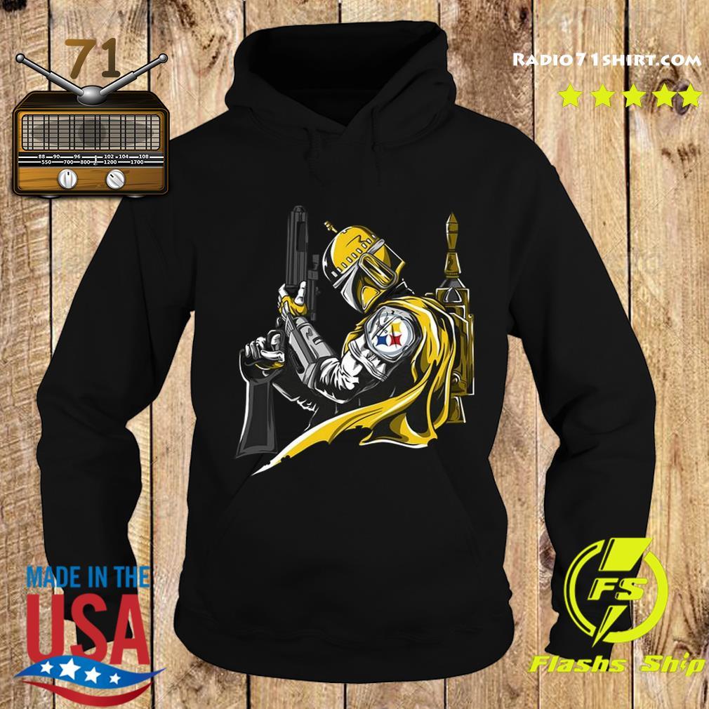Star Wars The Mandalorian Pittsburgh Steelers Shirt Hoodie